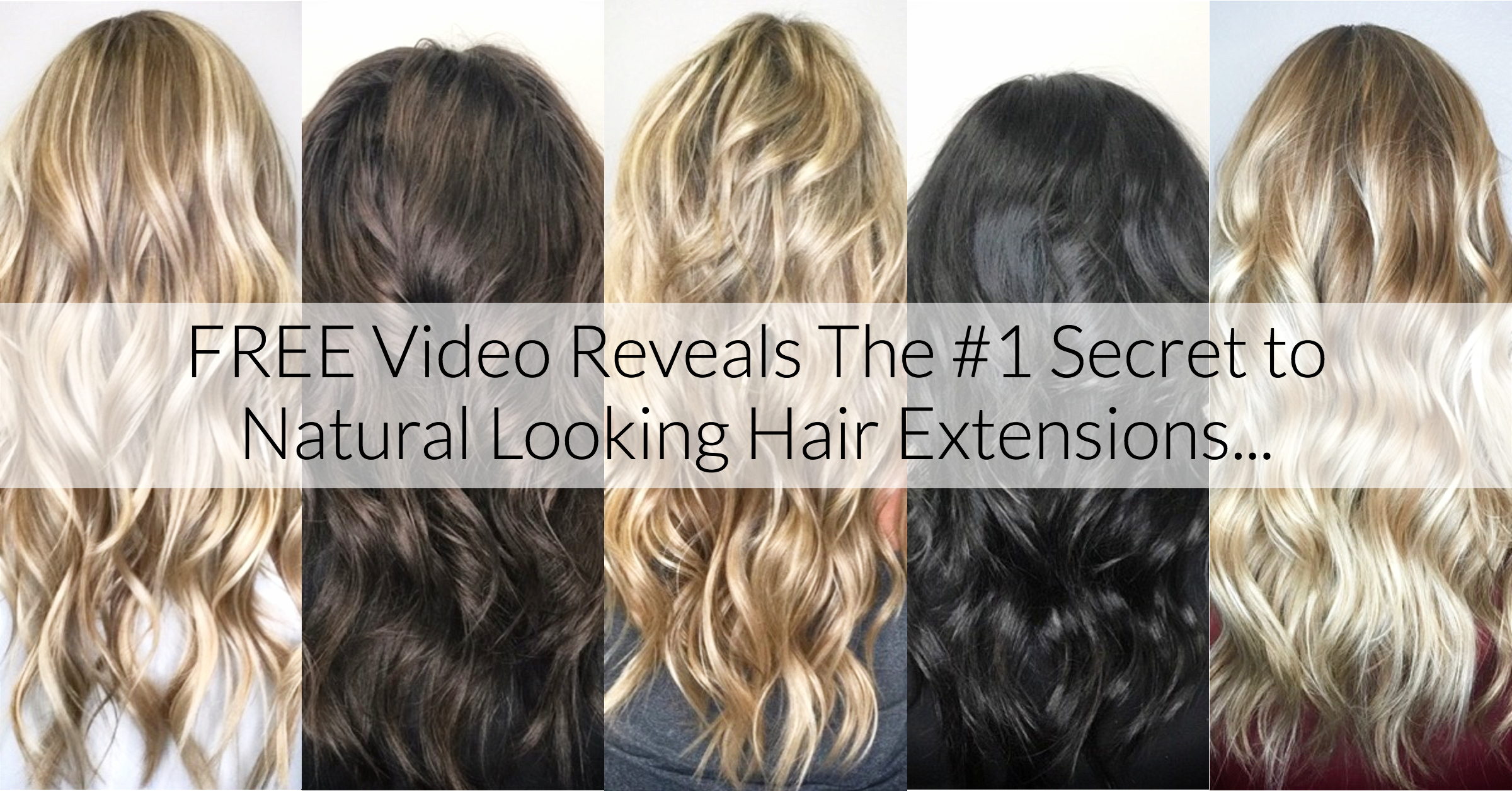 Most Reliable Natural Looking Hair Extensions Illustrations The